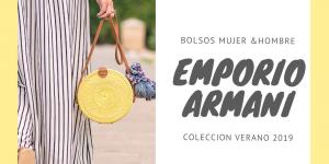 Emporio Armani: bolsos de temporada