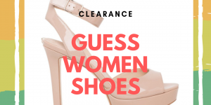 Guess women shoes clearance